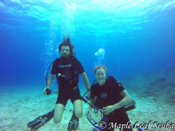 PADI Open Water Certification in Cozumel with Maple Leaf Scuba