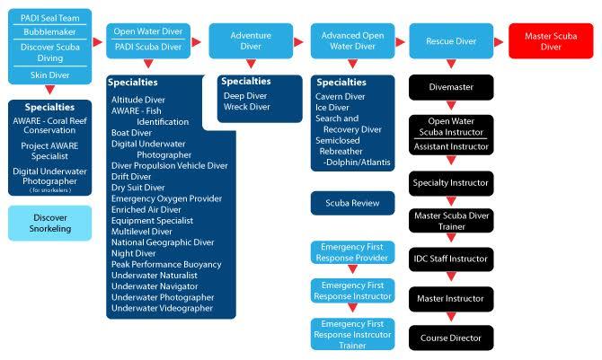 PADI Certification Courses