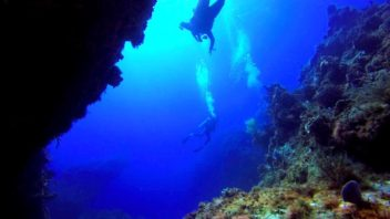 Advanced Open Water Scuba Diving Certification at Palancar Caves in Cozumel with Maple Leaf Scuba