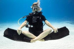 Peak Performance Buoyancy exercise